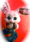 Bobby Bunny puppet for birthday parties