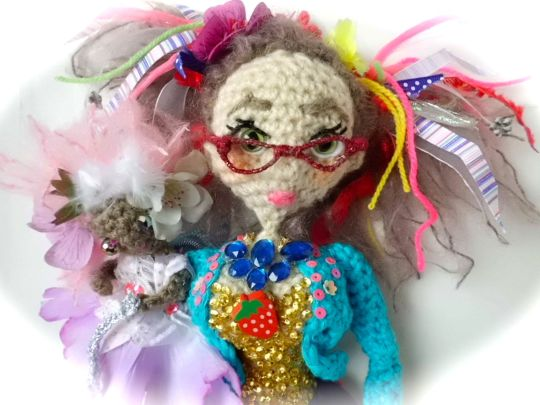 Kids entertainer Diane crochet dolly